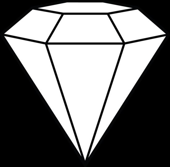 svg download Diamond Line Art