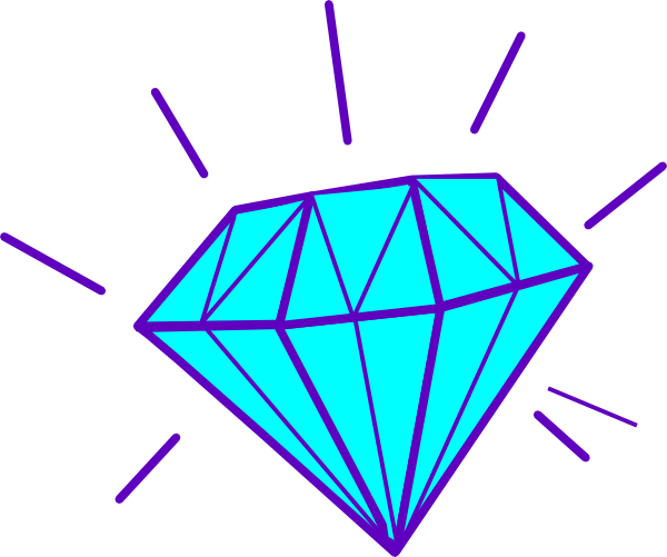 banner freeuse Gems Clipart diamond outline
