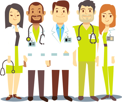 jpg royalty free download Team doctor free on. Doctors clipart