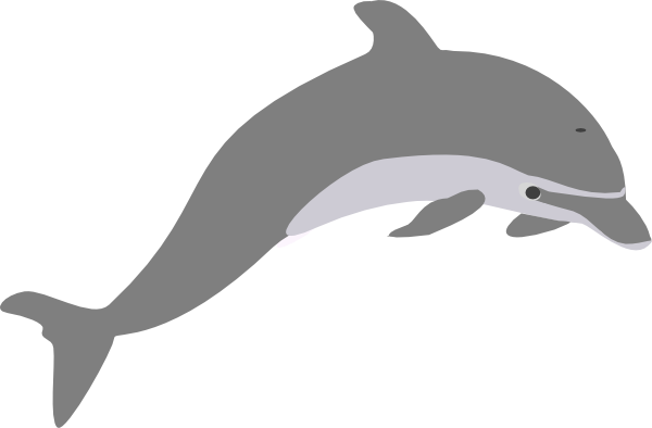 clipart library Vector dolphin silhouette. Clip art at getdrawings