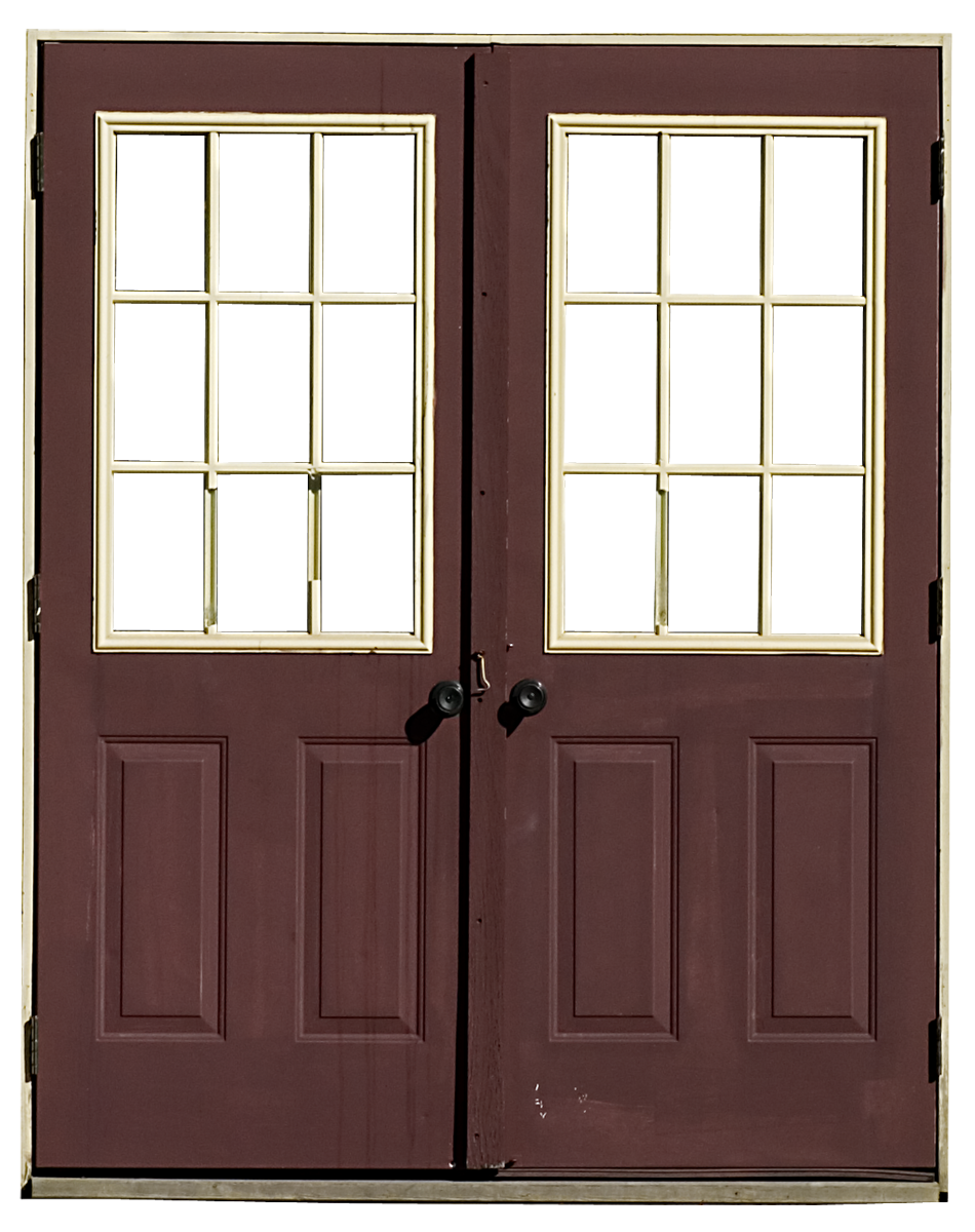picture black and white library Door PNG Transparent Images