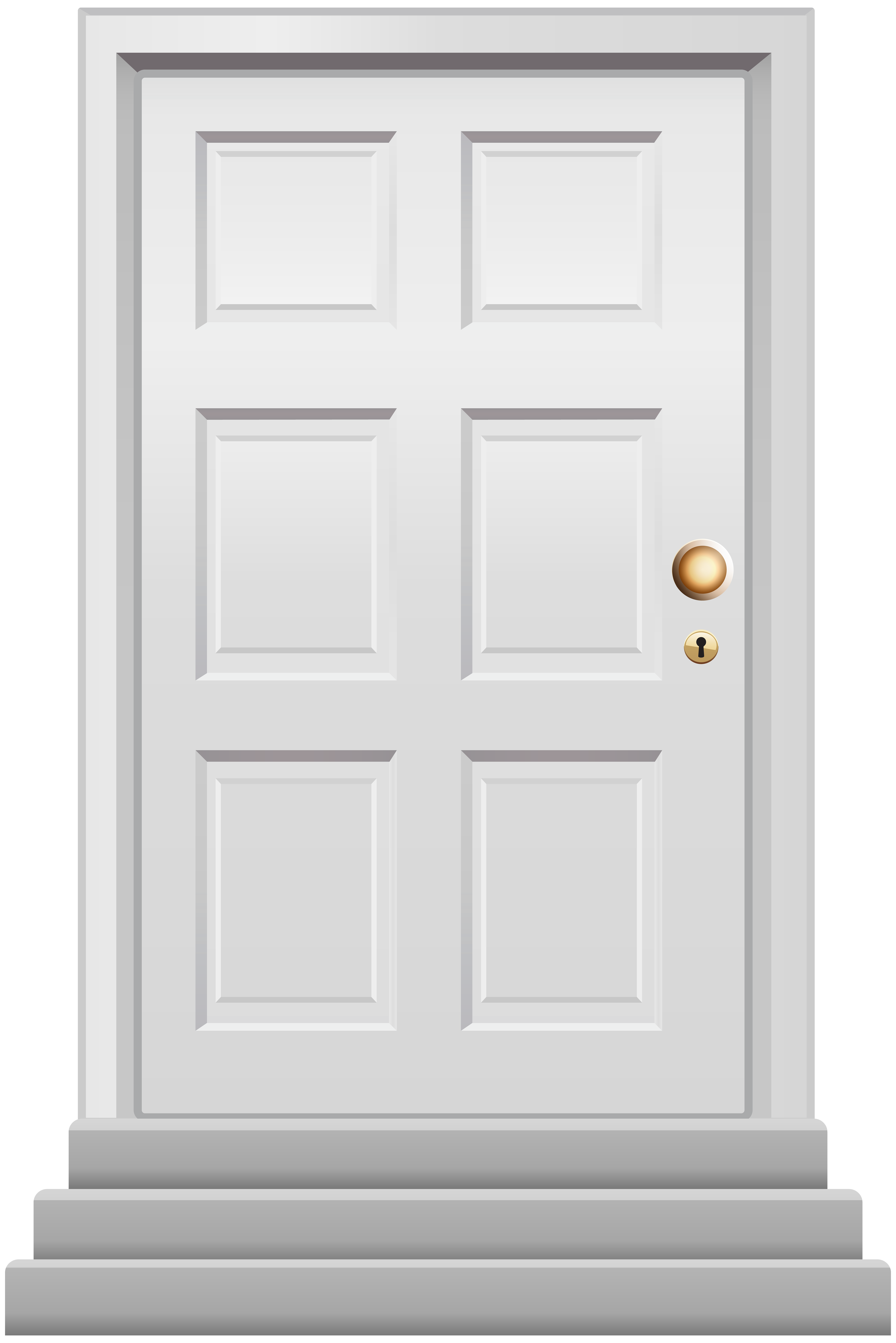clipart library stock Door white png clip. Supermarket clipart front