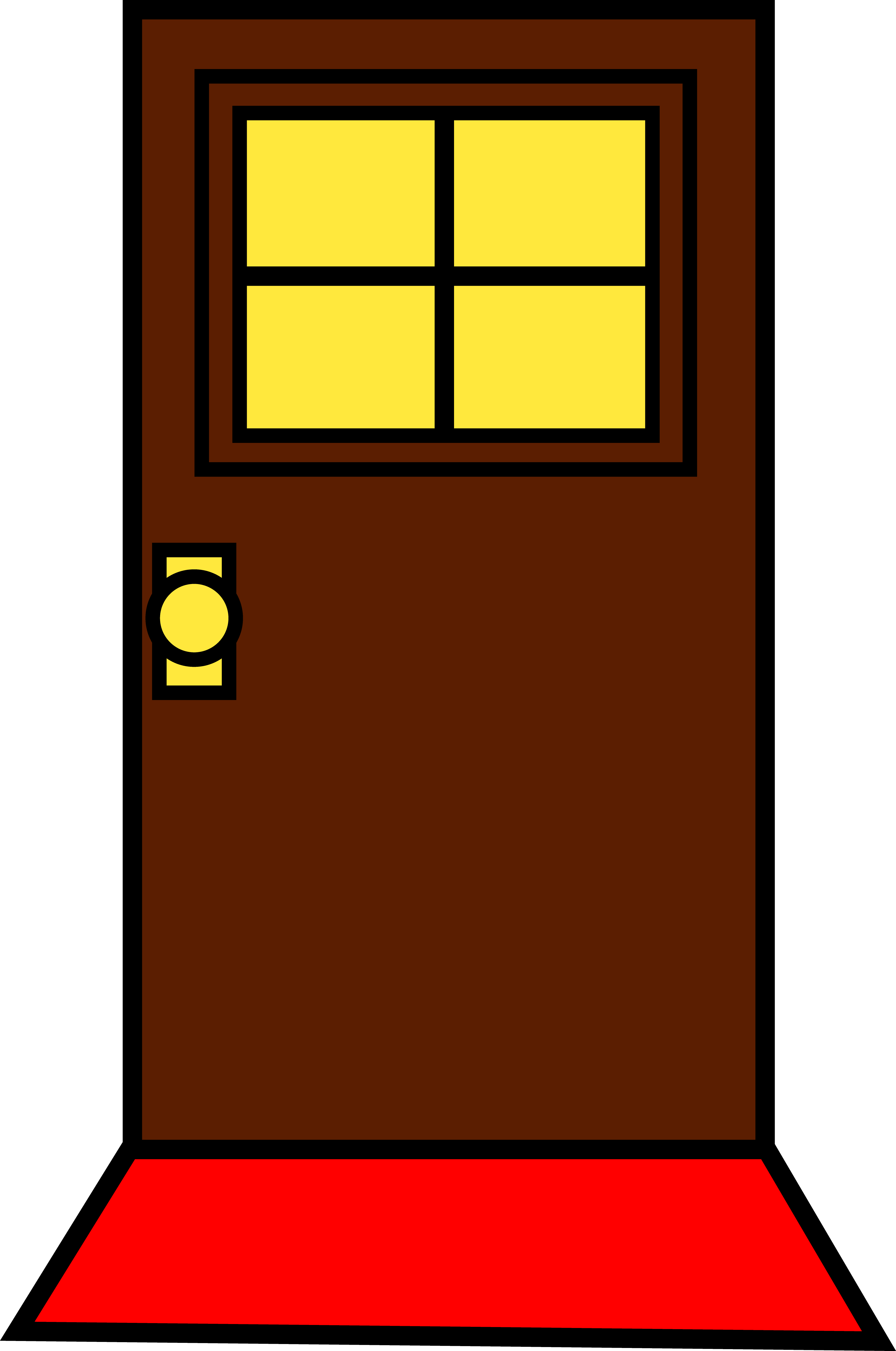 svg transparent library Drawing rectangle cartoon. Glamorous house door clipart