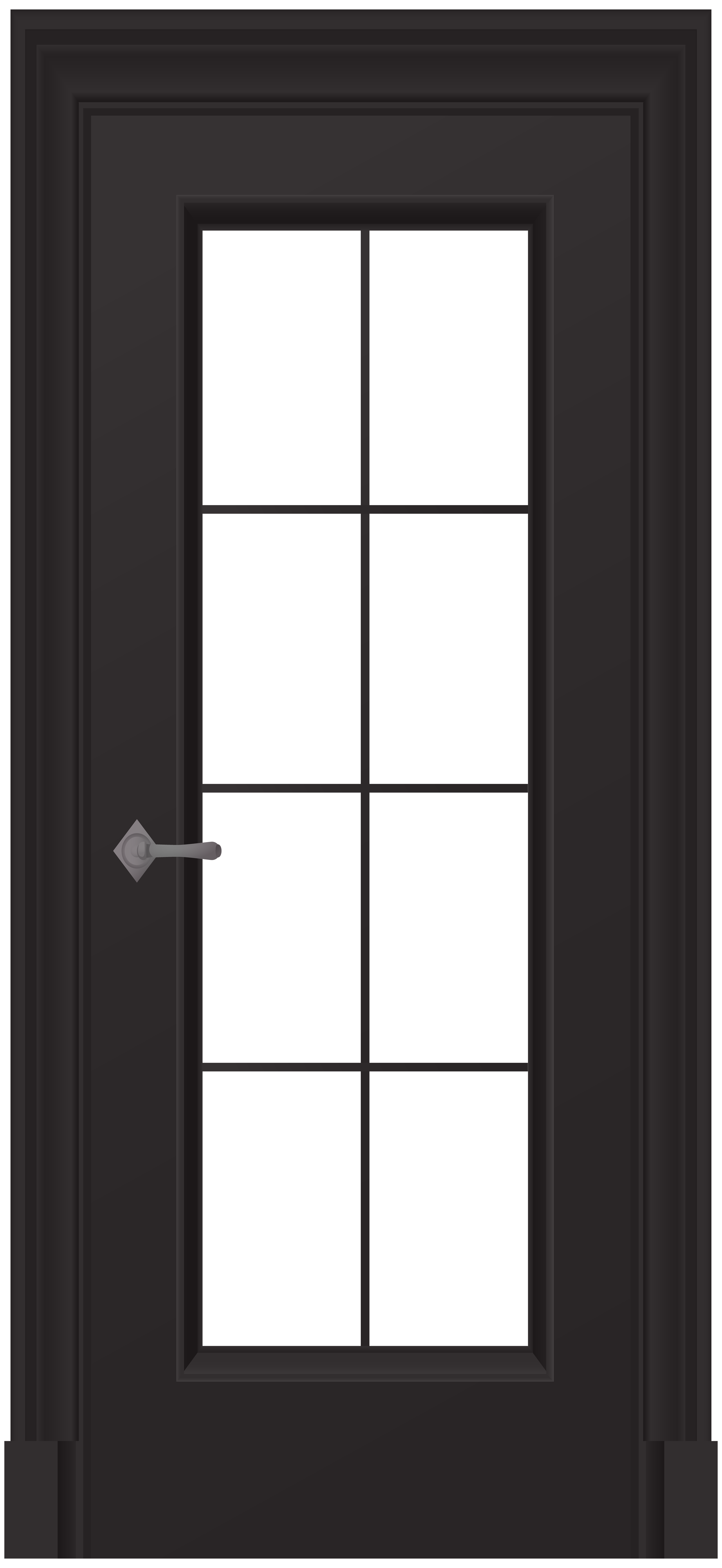 image library library Png clip art best. Door clipart black and white