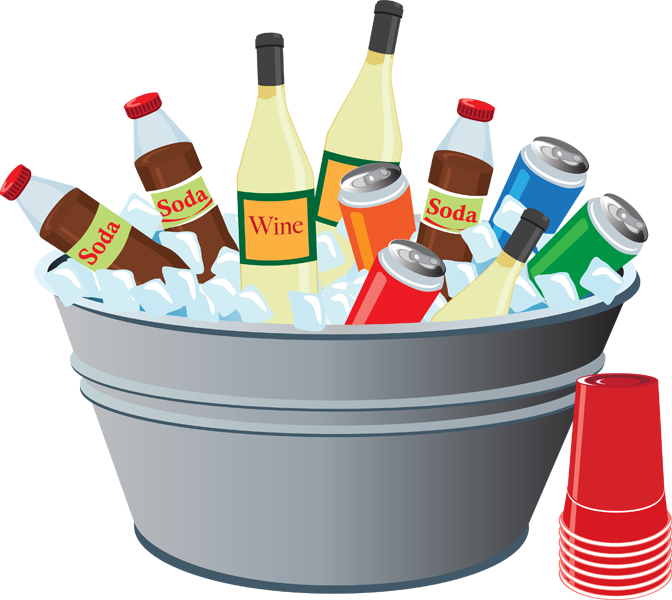 vector Drinks clipart. Drink picnic