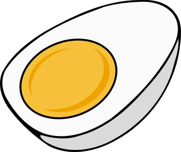 picture download Egg clip art at. Eggs transparent half