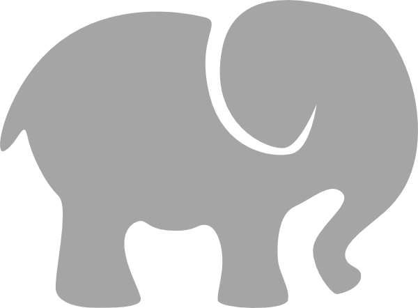 png freeuse library Elephants clipart. Elephant silhouette at getdrawings.