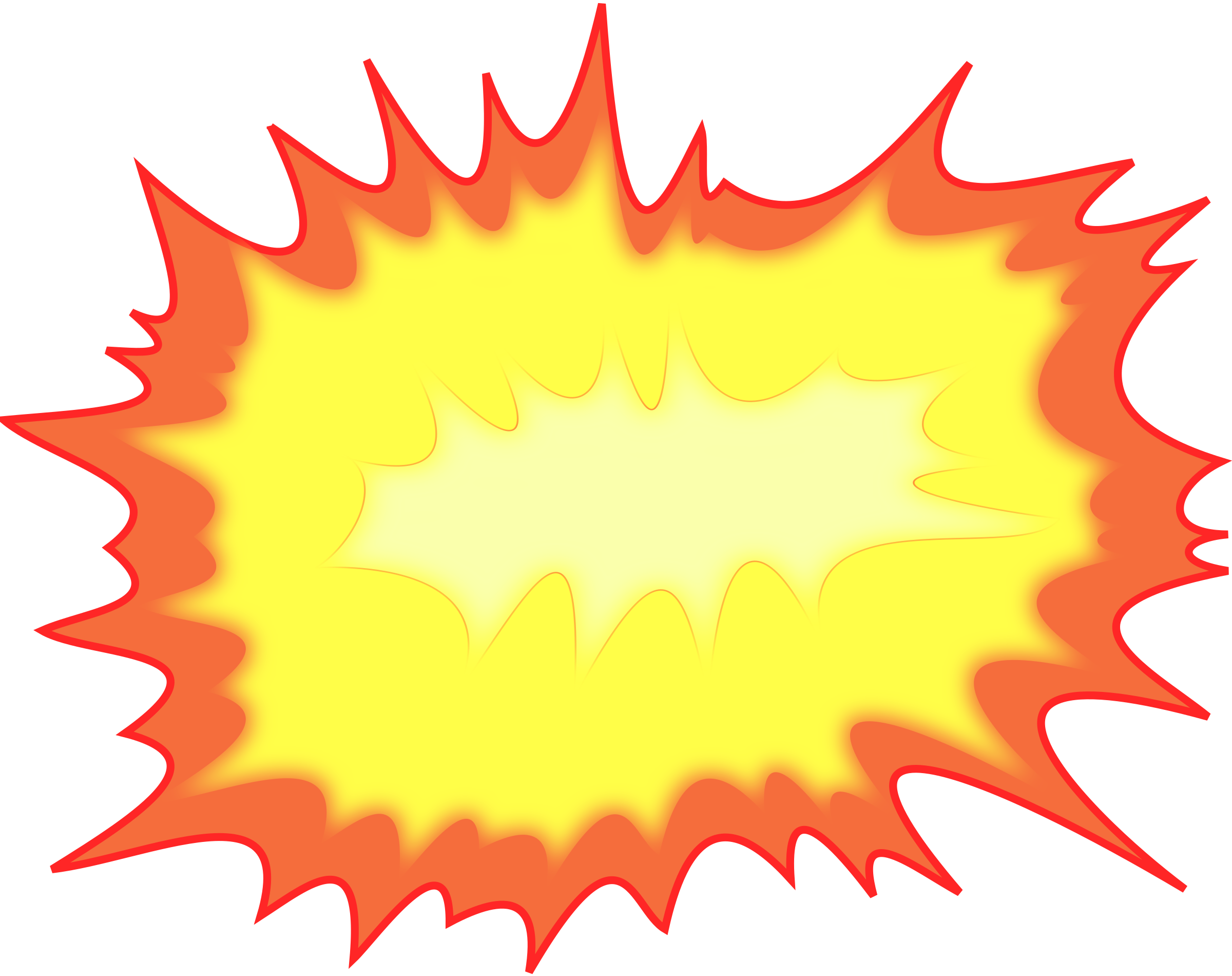 graphic free stock Yellow free on dumielauxepices. Explosion clipart.