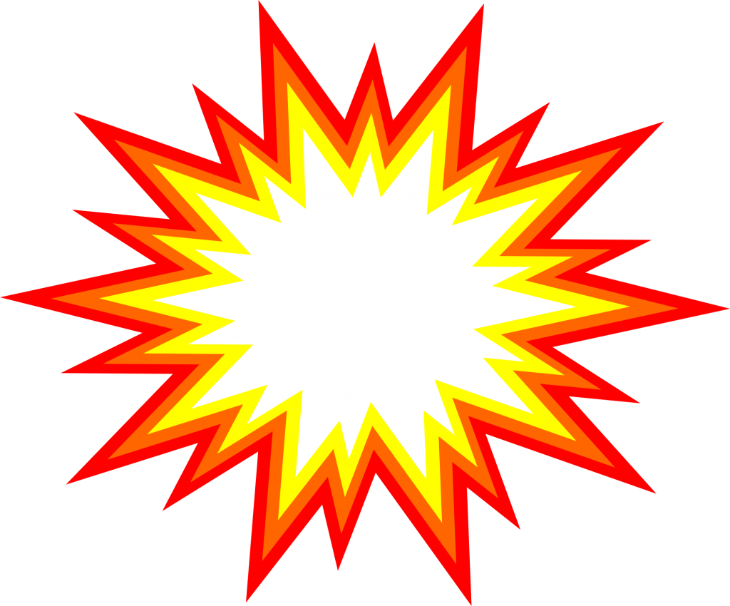 graphic transparent stock Explosion Clipart transparent background