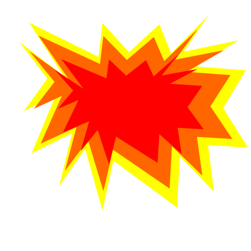 stock Explosion clip. Art free clipart images.