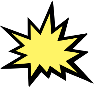 svg royalty free download Explosion clip. Animated clipart .