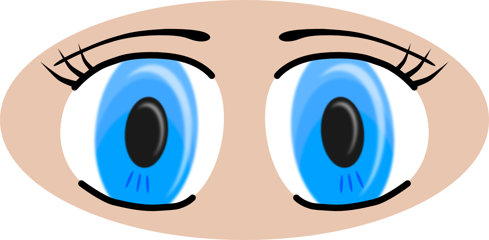 image freeuse library Free Eyes Cliparts