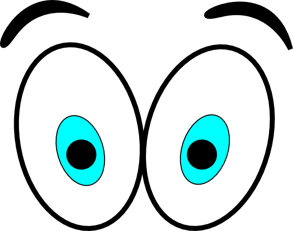 black and white download Looking clipart eyes. Clip art panda free.