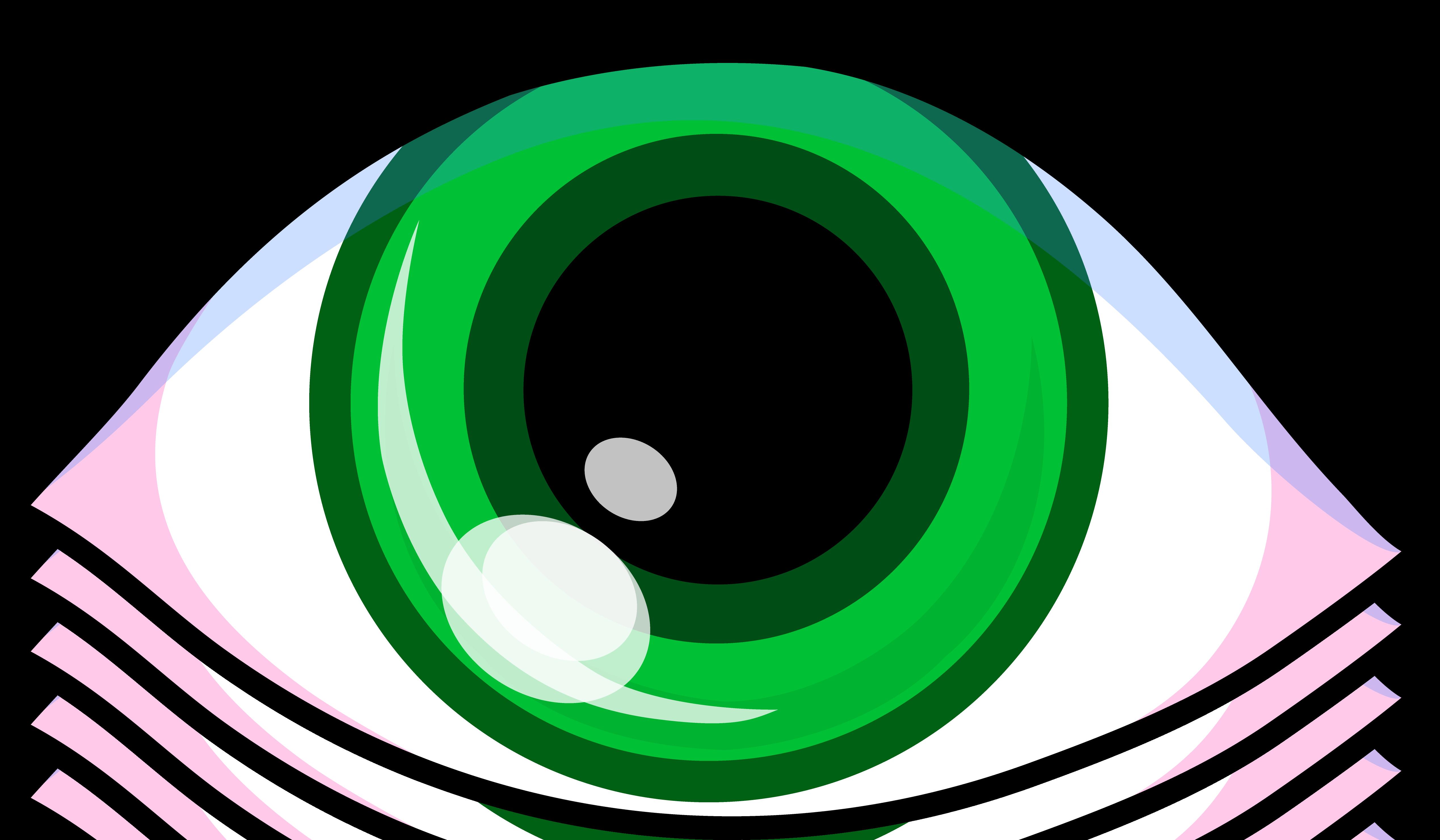 clipart Vision clipart cute eye. Cartoon eyes panda free