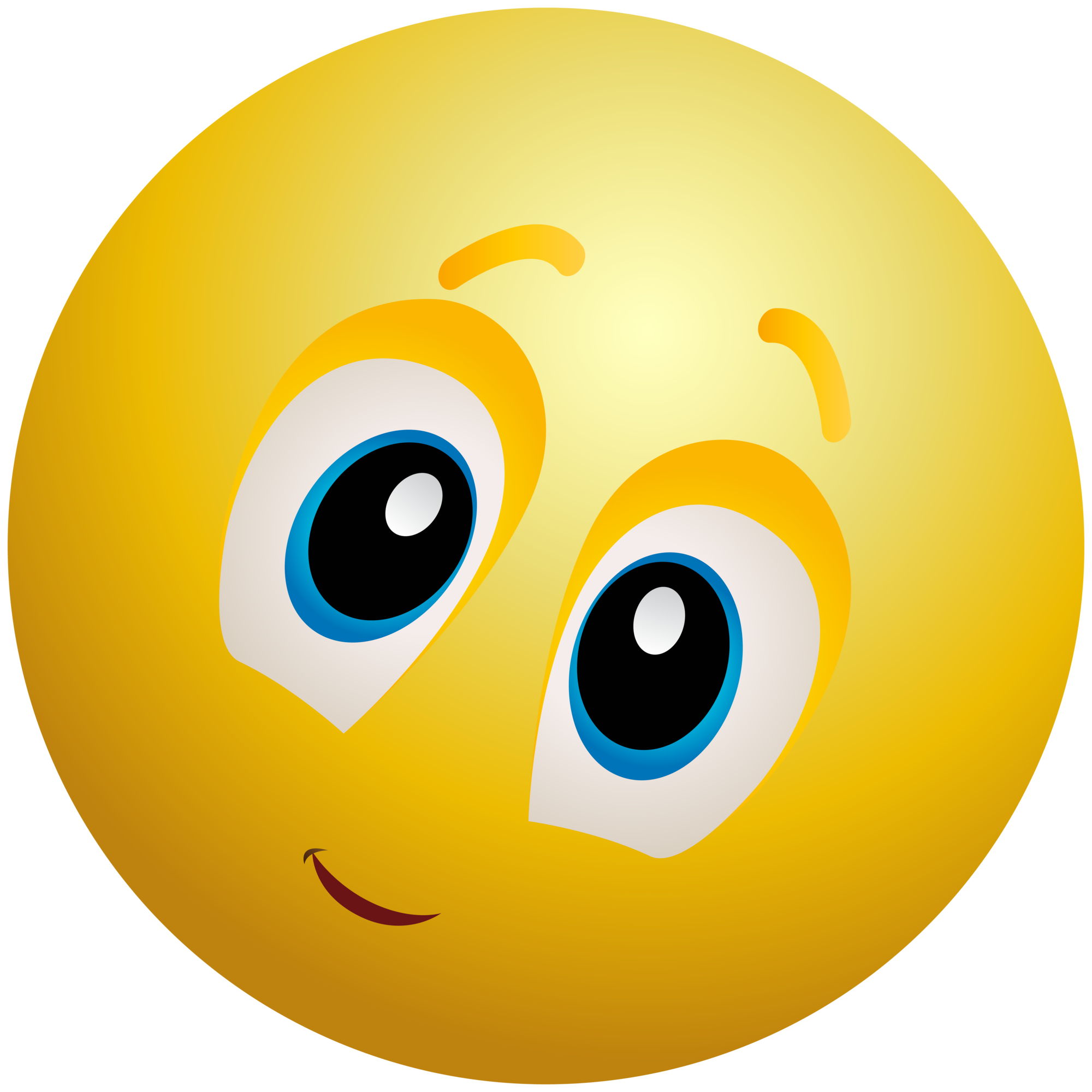 library Kindly face emoticon info. Emoji clipart