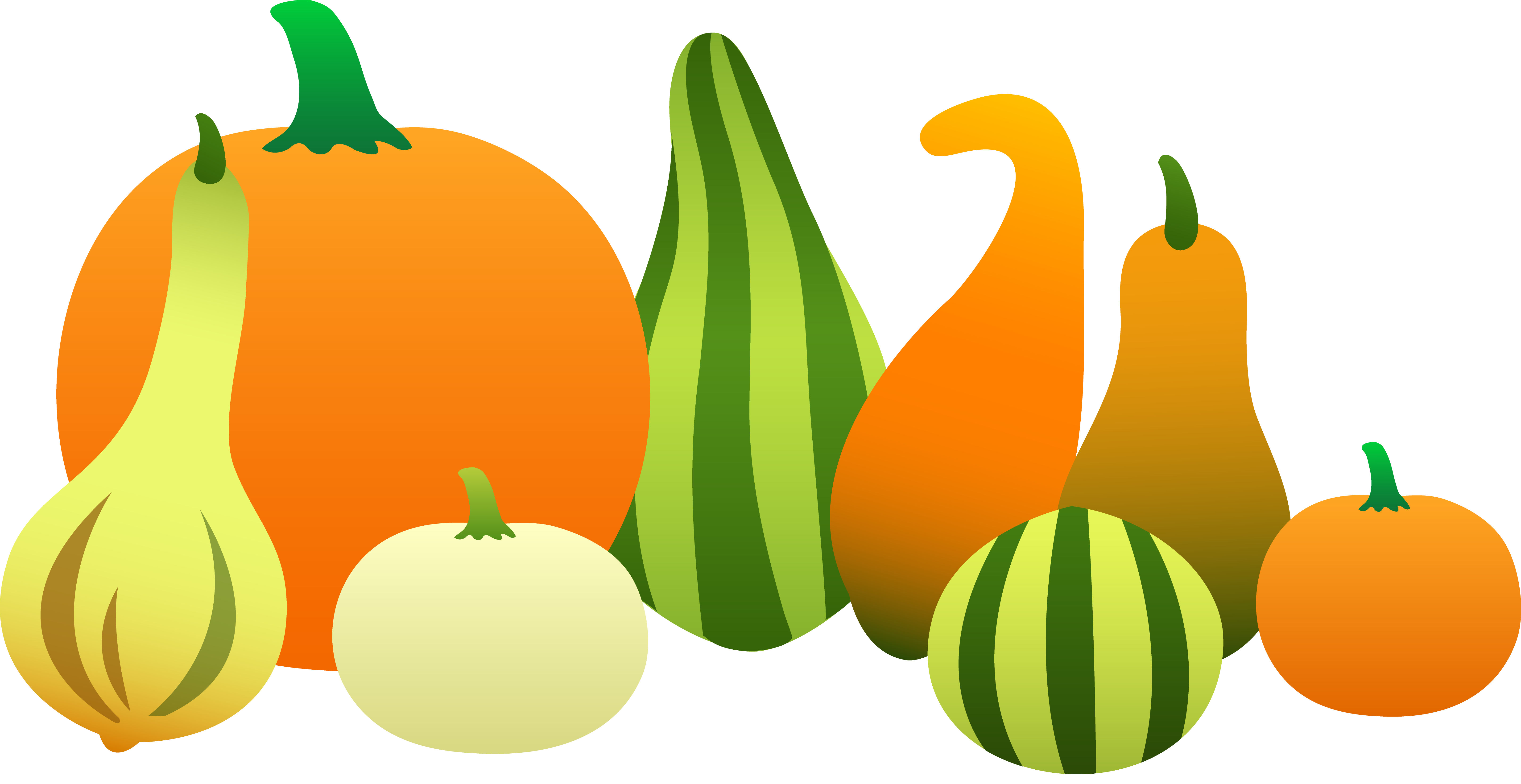 picture black and white library Thanksgiving Gourd Clipart