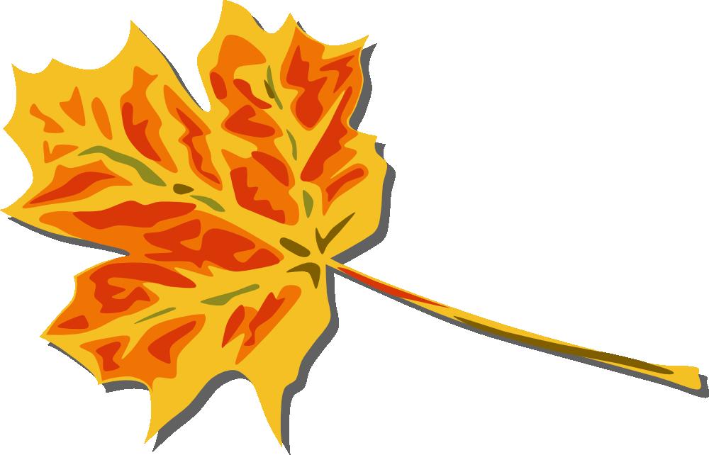 clip art Onlinelabels clip art fall. Maple clipart falling leaf
