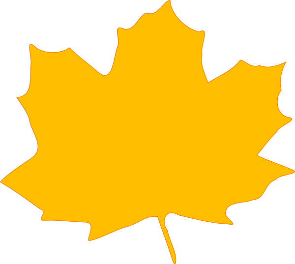image library library Yellow Fall Leaf Clip Art at Clker