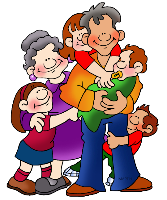png royalty free library Family and friends clip. Grandparents clipart.