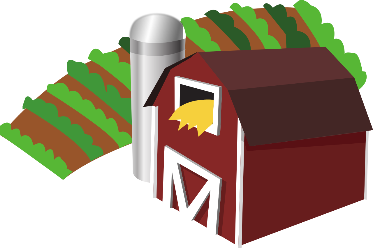 banner library download File barn with clip. Farm background clipart