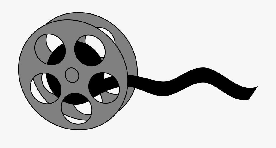 banner freeuse library Movie strip clipart reel. Film transparent cartoon.