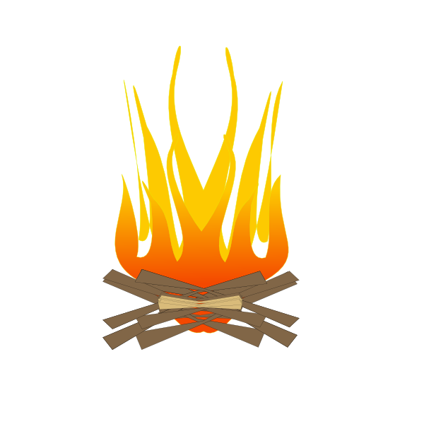 jpg free library Camping Fire Clip Art at Clker