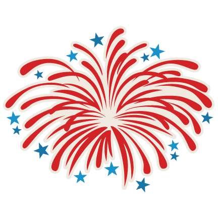 png black and white library Free 4th of clipart fireworks clipart. Th july pinterest cricut.