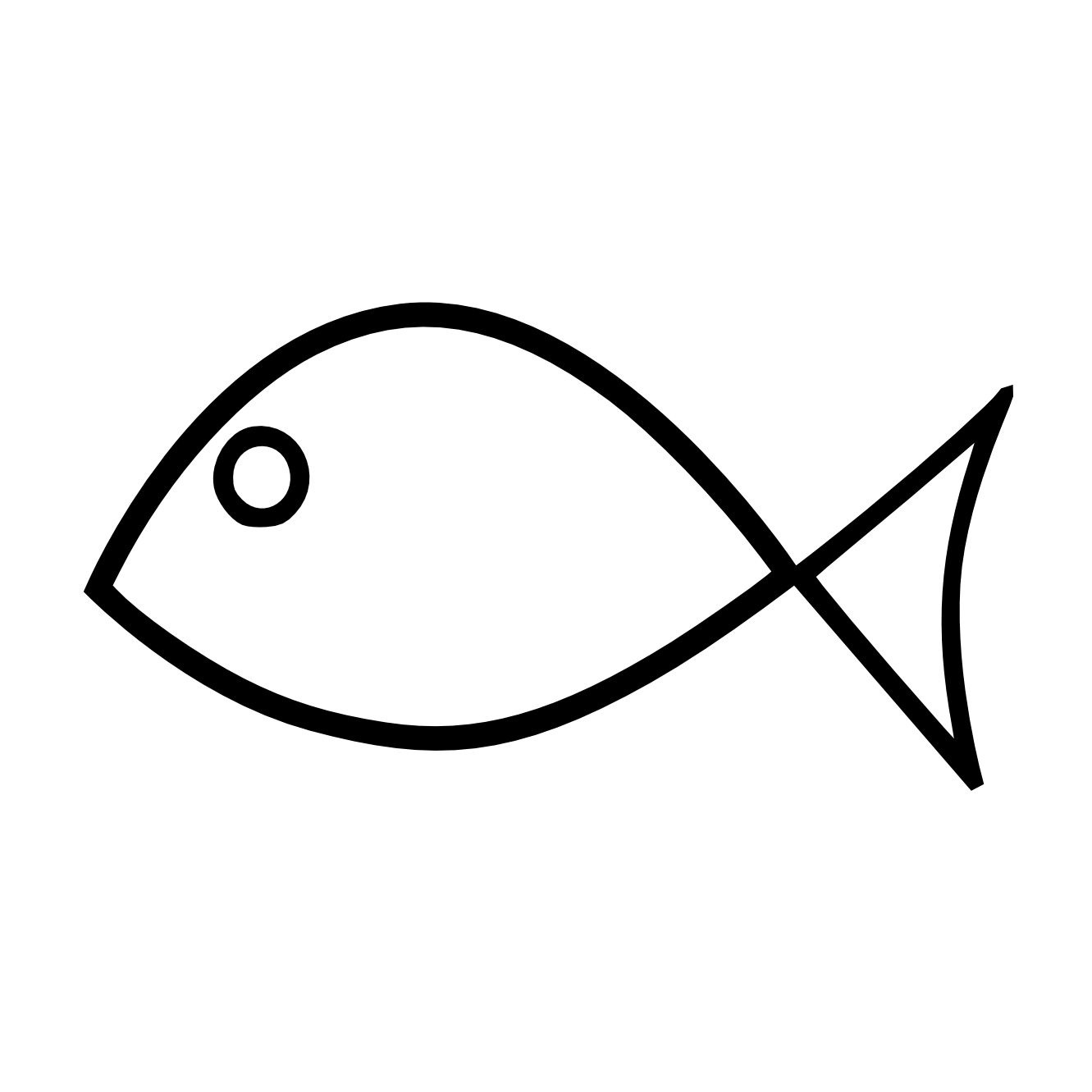 picture library library Fish Clip Art Black And White