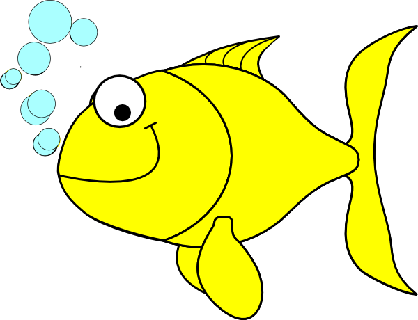 clipart stock Fish clipart. Yellow clip art vector