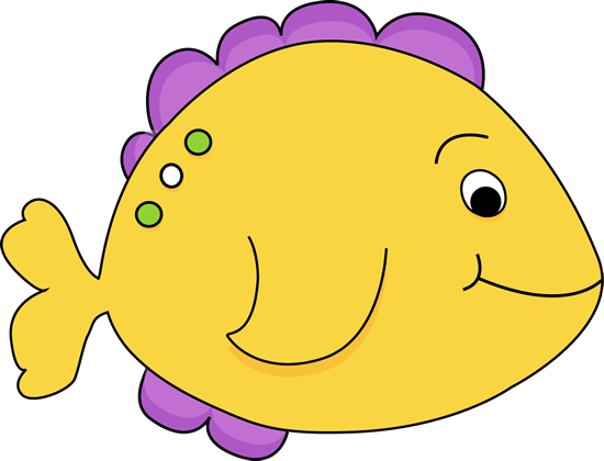 clipart transparent download Purple cartoon yellow clip. Fish clipart