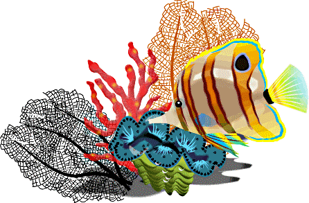 png freeuse library Free School of Fish Clipart Image