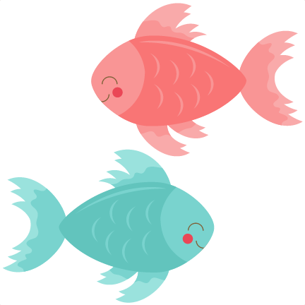 image freeuse library Betta svg cutting file. Cute fish clipart