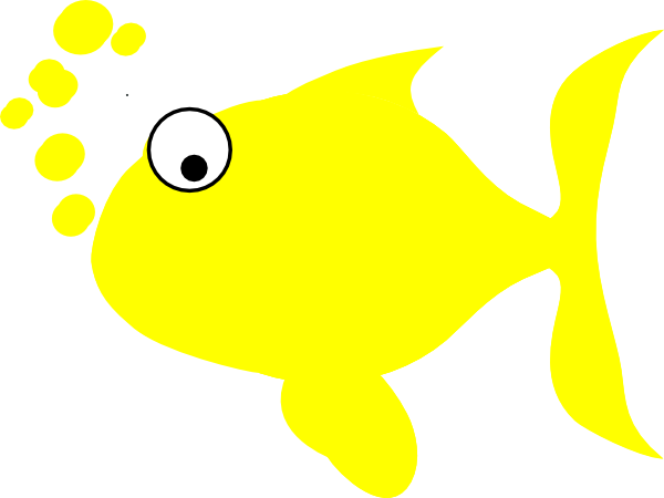 image royalty free download Yellow Fish Clip Art at Clker