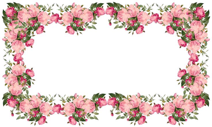 png download Flowers borders png transparent. Clipart flower border