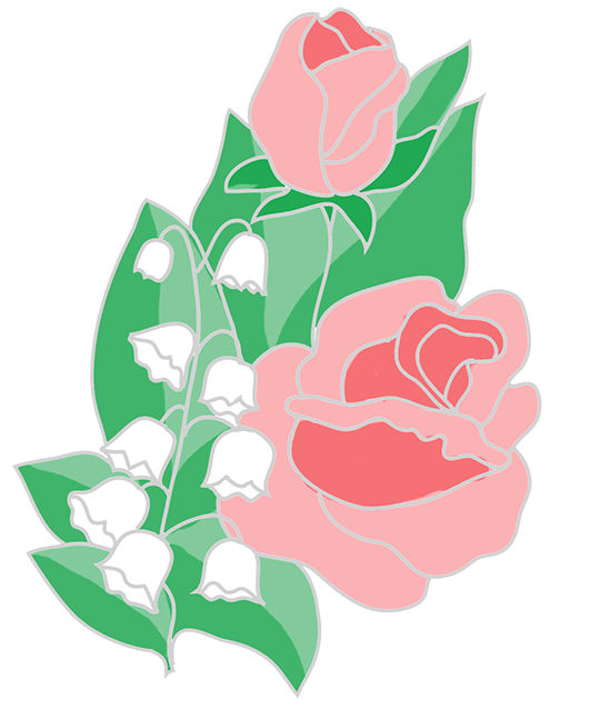 graphic transparent Lily clipart flower bouquet. Free roses lilies of.