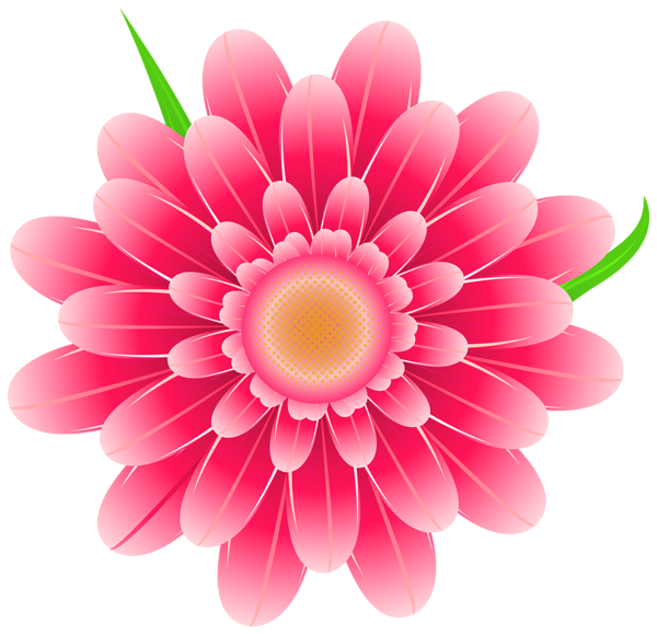 picture freeuse download Transparent Pink Flower Clipart PNG Image