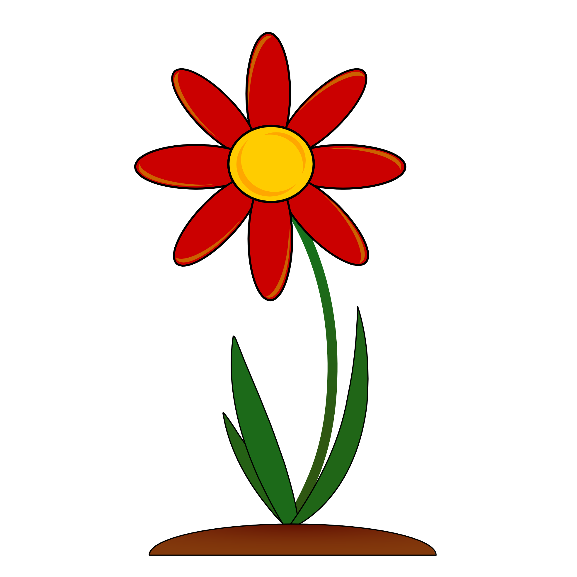 image freeuse Red clip art png. Clipart flower border
