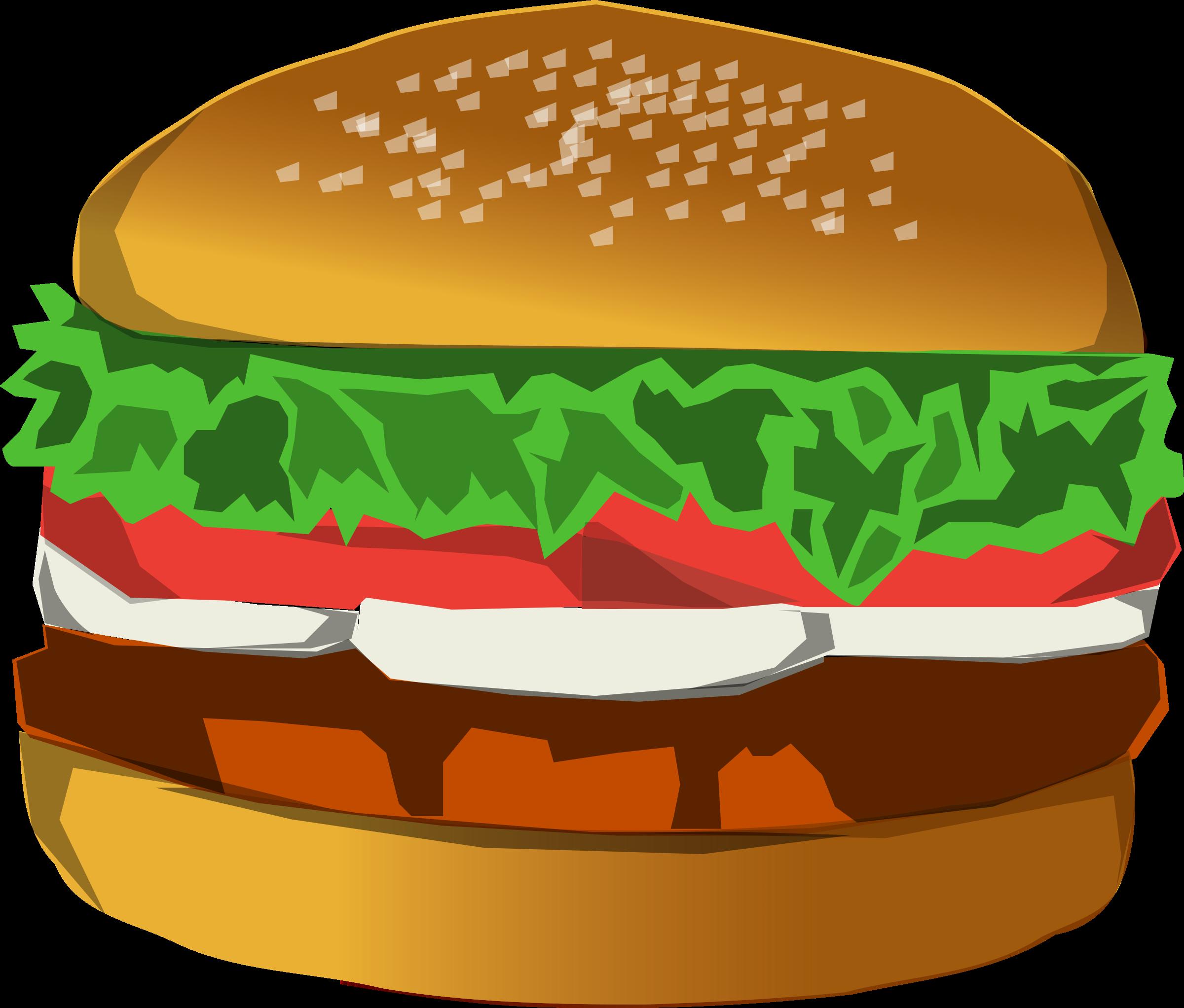 picture transparent library Big image png. Hamburger clipart regular burger