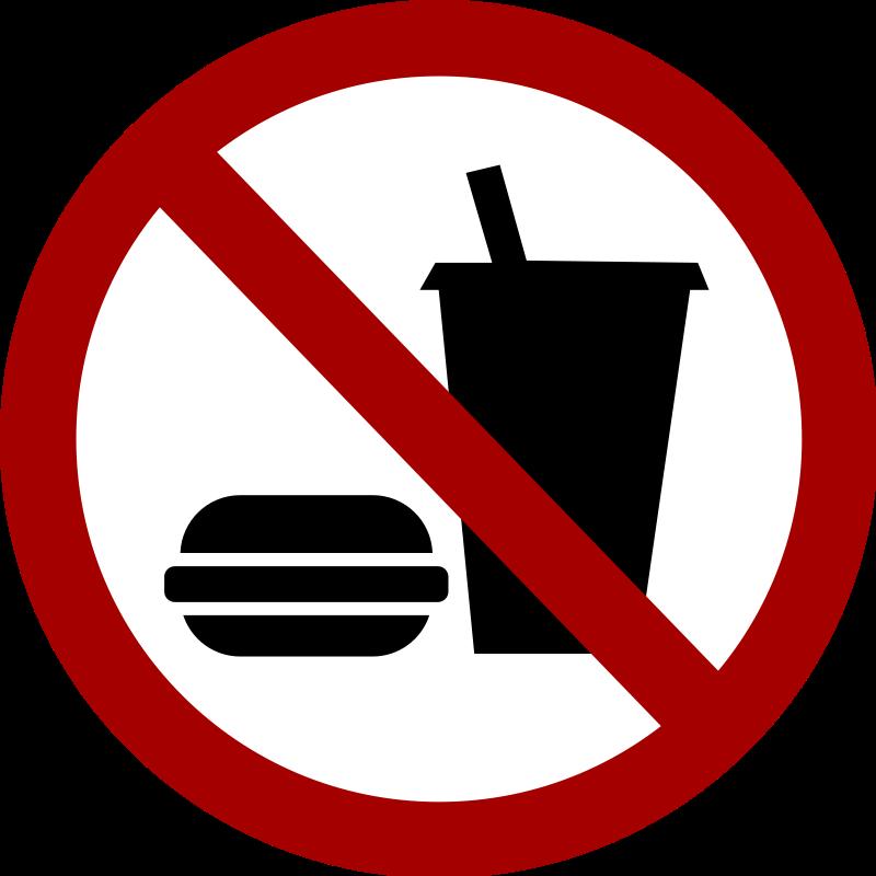 image stock No Junk Food Clipart