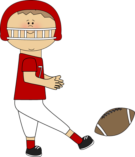clipart library download Boy Kicking Football Clipart