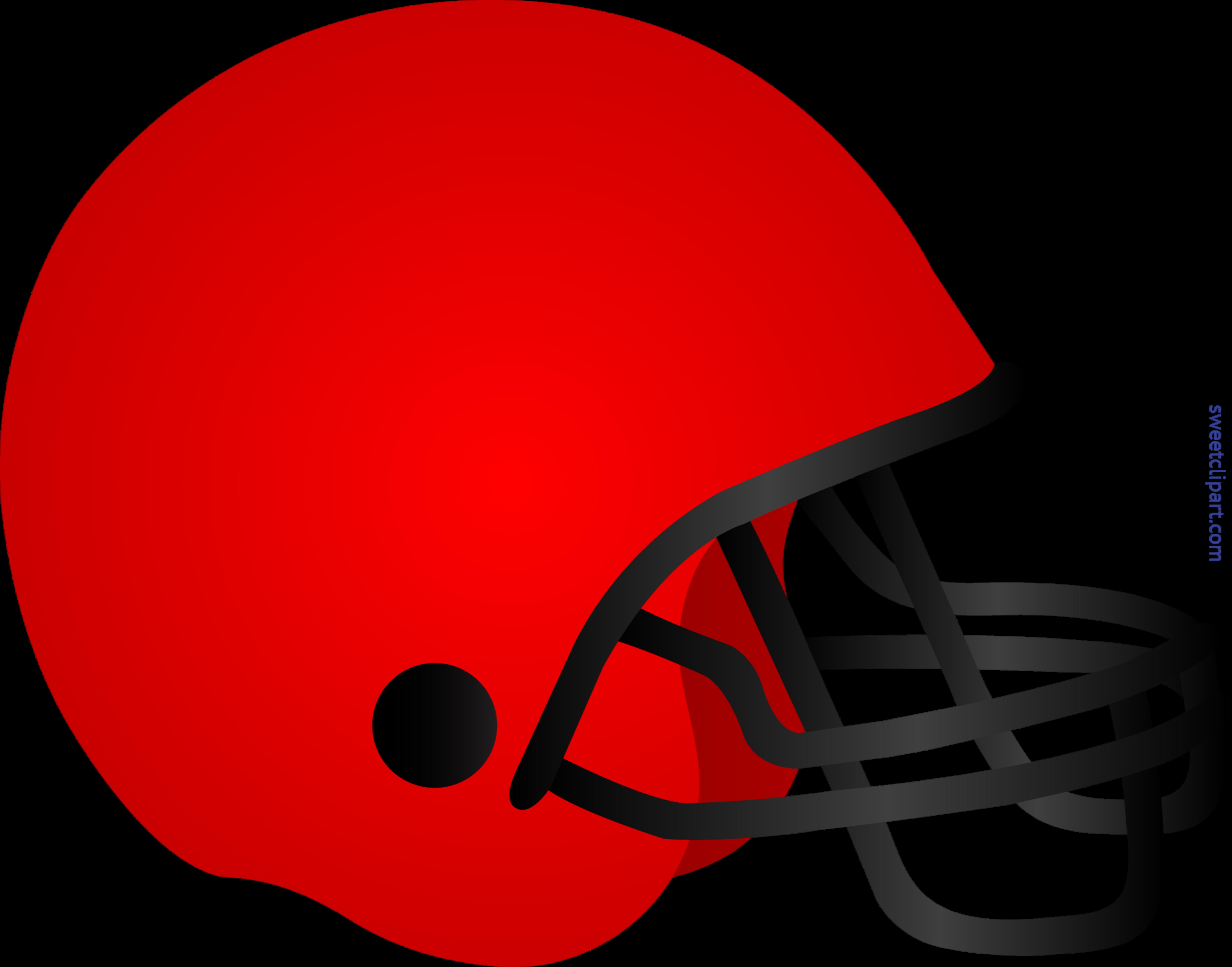 svg royalty free download Football Helmet Red Clip Art