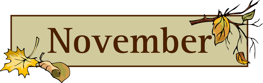 vector royalty free library clipart for november #70641631