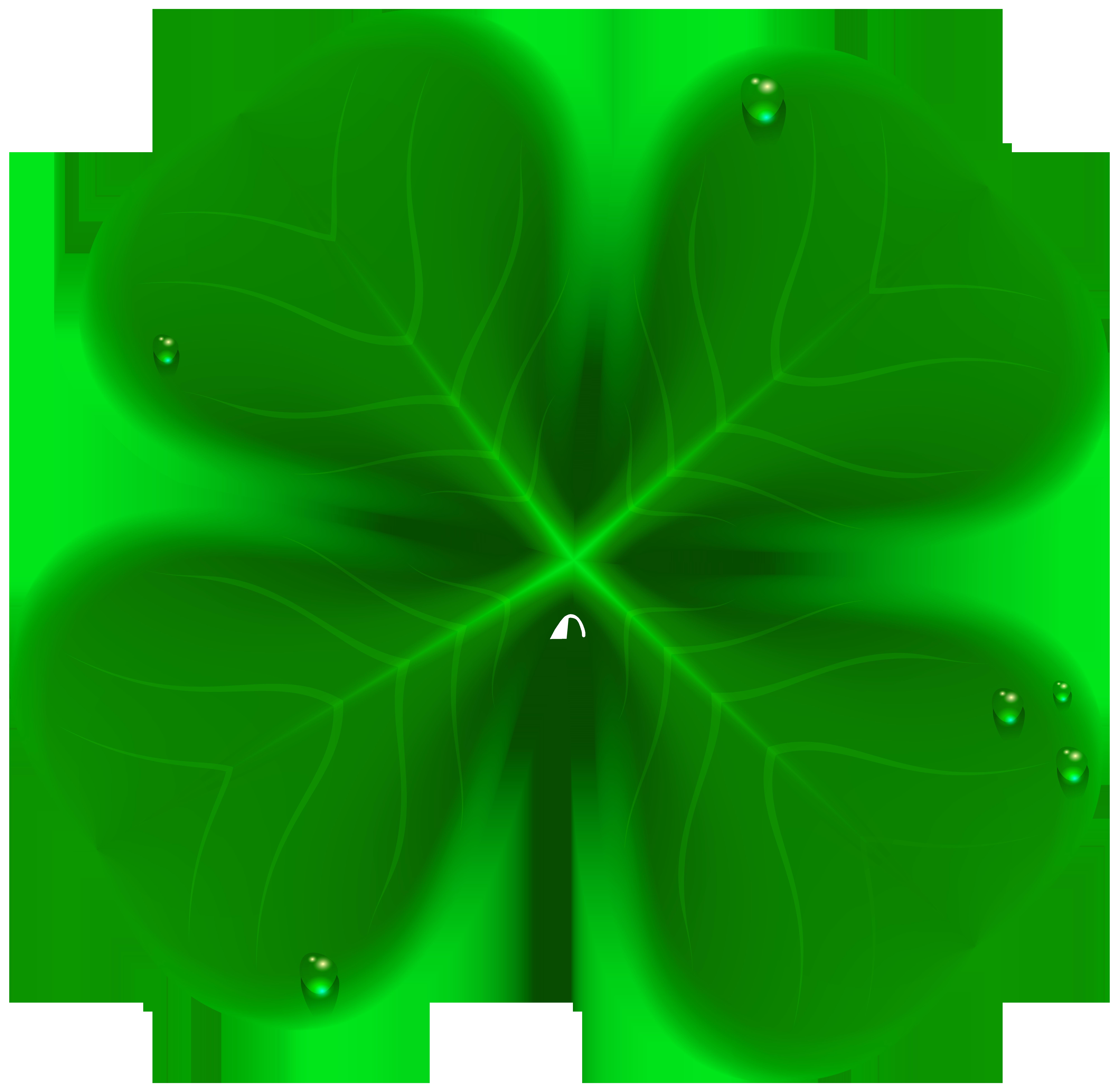graphic transparent stock Four Leaf Clover Transparent Clip Art Image