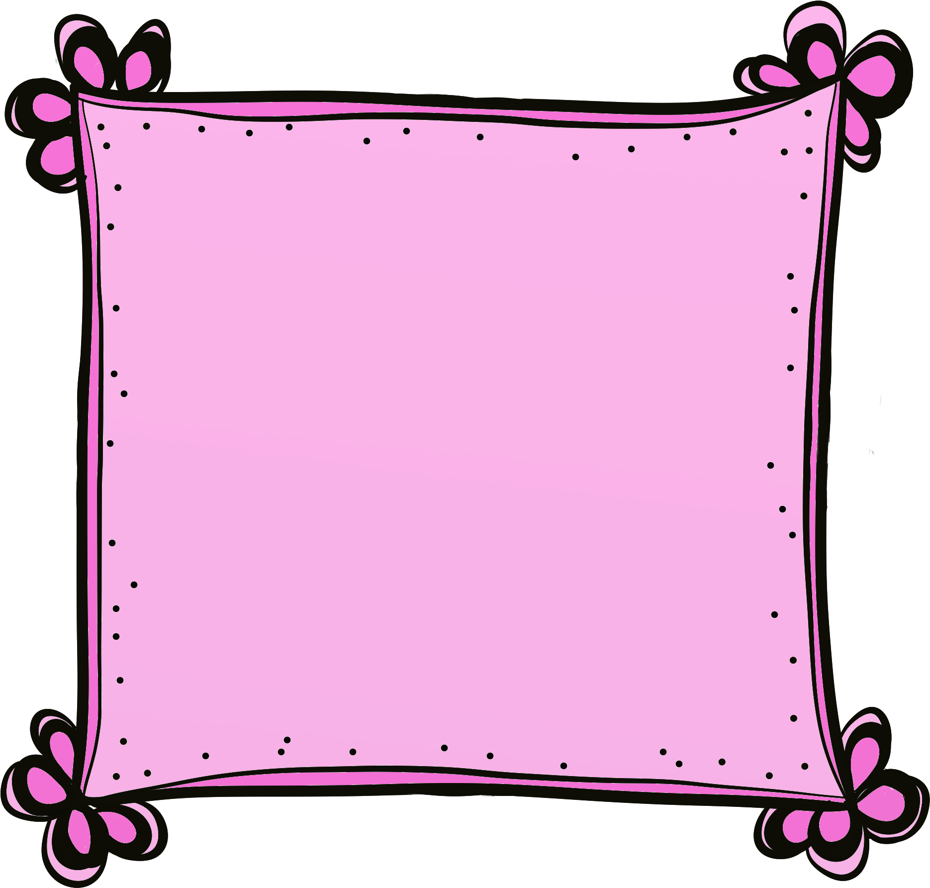 picture royalty free Cute art free clip. Clipart frames and borders