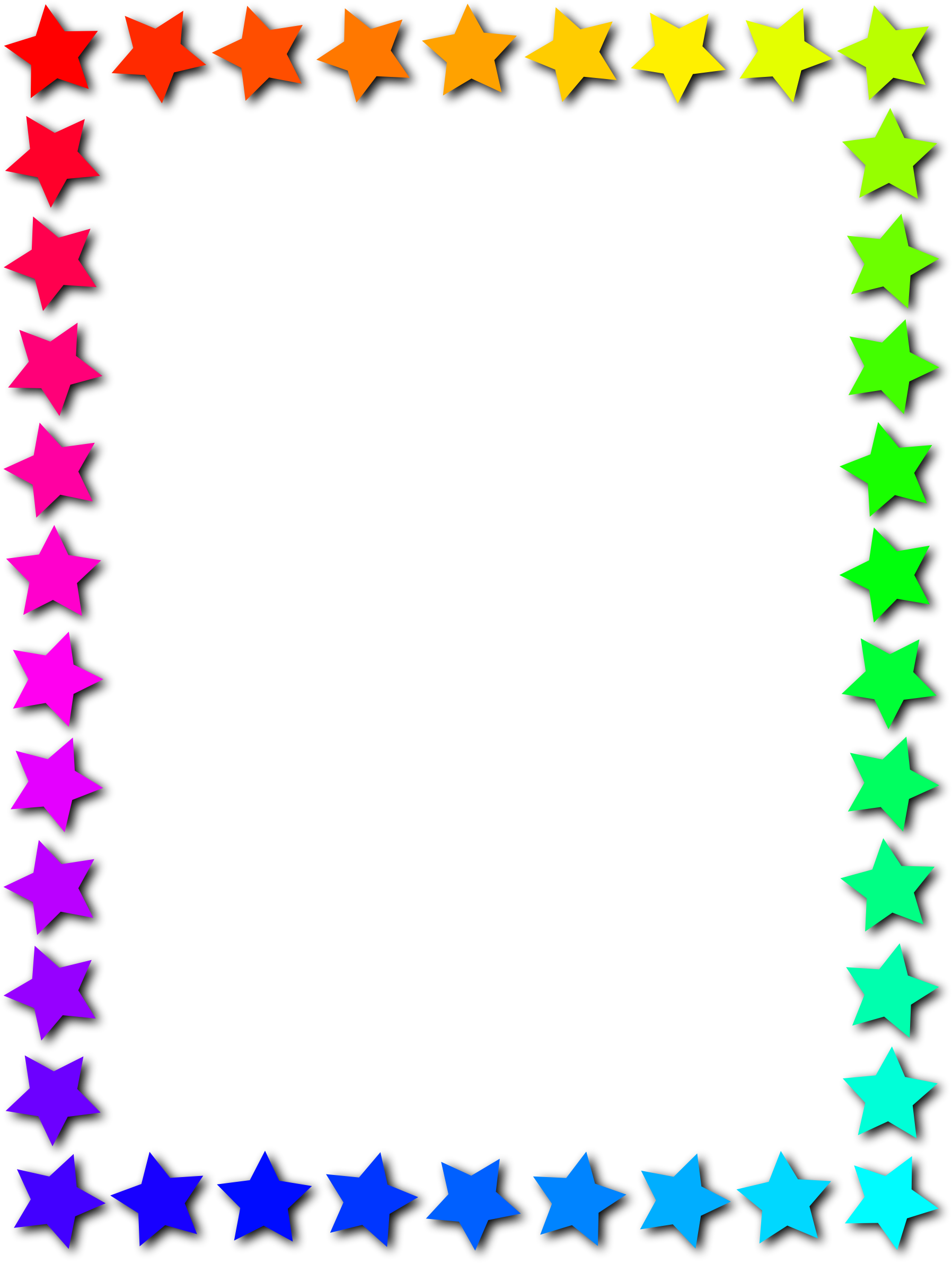 banner royalty free download Stars clipart border. Star frame starframe clip.