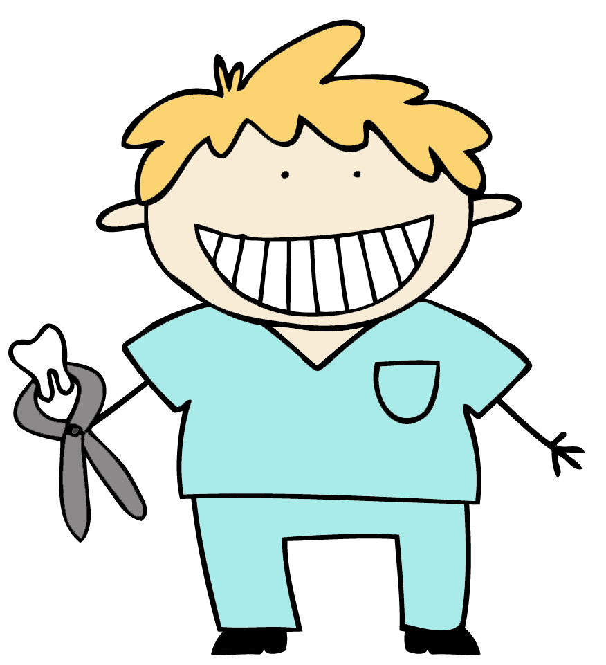 clipart library download Free dental images download. Drawing tooth kid