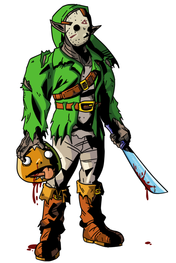 png free stock Clipart friday 13th. The th zelda crossover