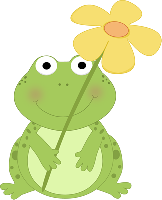 svg free stock Cute spring clip art. Toad clipart flies