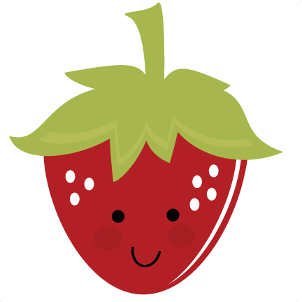 png royalty free stock Berries clipart cute. Strawberry svg files for