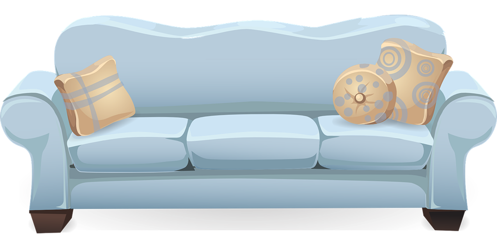 banner transparent library Sofa Furniture Clipart DownloadClipartorg